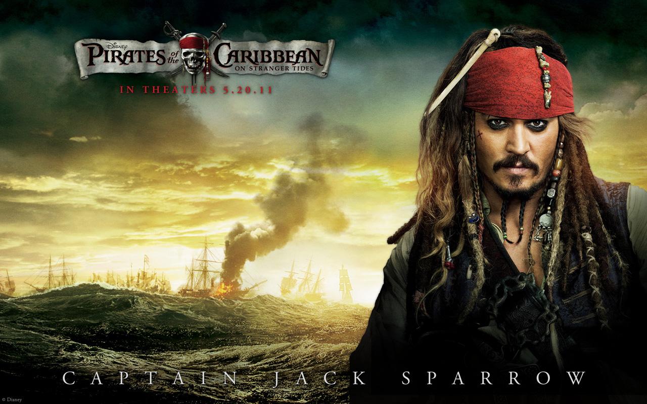 壁纸/《加勒比海盗4:惊涛怪浪》海报