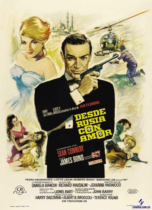 007之俄羅斯之戀_007系列海報及簡介
