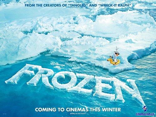 《冰雪奇缘》海报