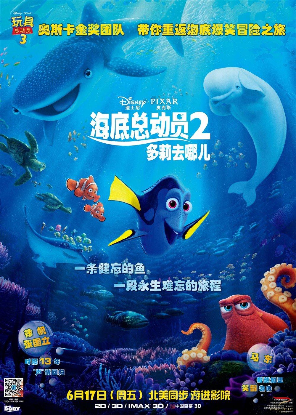 2003年《海底总动员》横空出世,温馨的故事和开创性的cg