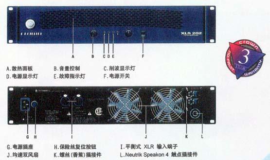 权威音响杂志pro audio review授予皇冠xls系列202/402/602功放在创新